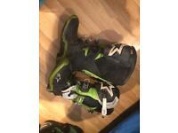 Alpinestar tech 10 motocross boots green size 10