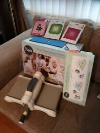 Sizzix Manual shape cutting and Embossing Machine