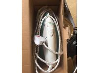 New boxed Steam iron