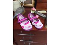 Clarks slippers - girls bunny slippers size 8.5