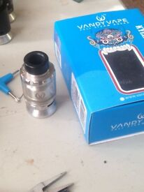 Kylin RTA £20 with box and all accessories