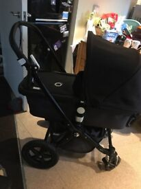 Bugaboo chameleon3 black chassis great condition £400