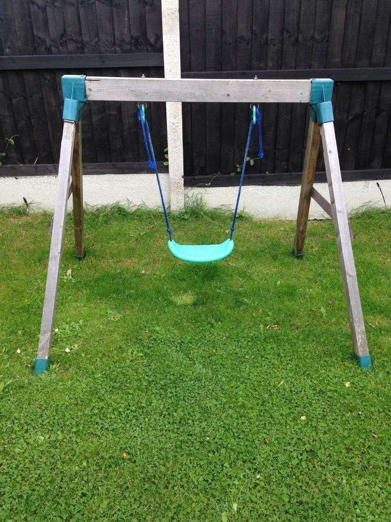 Toddler wooden swingin Ipswich, SuffolkGumtree - Toddler wooden swing for sale no longer used £20 buyer to collect