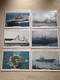 Collectable Warships Maxi Cards (36)