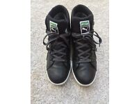 Puma Gore Tex high top trainers /shoes