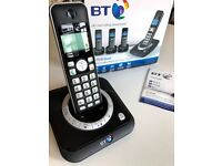 BT digital cordless phone with answering machine - like new
