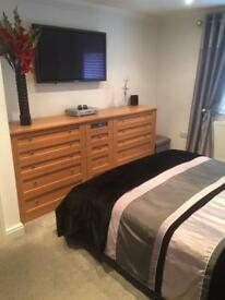 BEDROOM CONTEMPORARY DRAWERS/STORAGE - VERY EXPENSIVE!