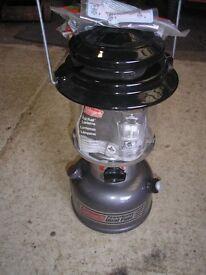 SEA FISHING LIGHT. COLEMAN DUAL FUEL PETROL LAMP NEW NEVER USED