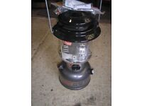SEA FISHING LIGHT. COLEMAN DUAL FUEL PETROL LAMP NEW NEVER USED