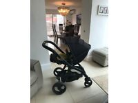 Egg 3 in 1 stroller travel system Gotham black
