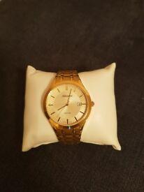 Adriatica gold watch