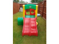 Little tikes double slide almost new