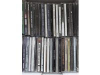 60 CD's Various Artists, Groups and Bands