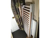 White wooden cot / toddler bed bargain 40 pound