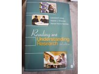Reading And Understanding Research Book