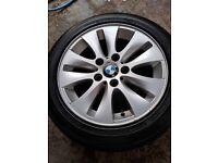 BMW set alloys size 16