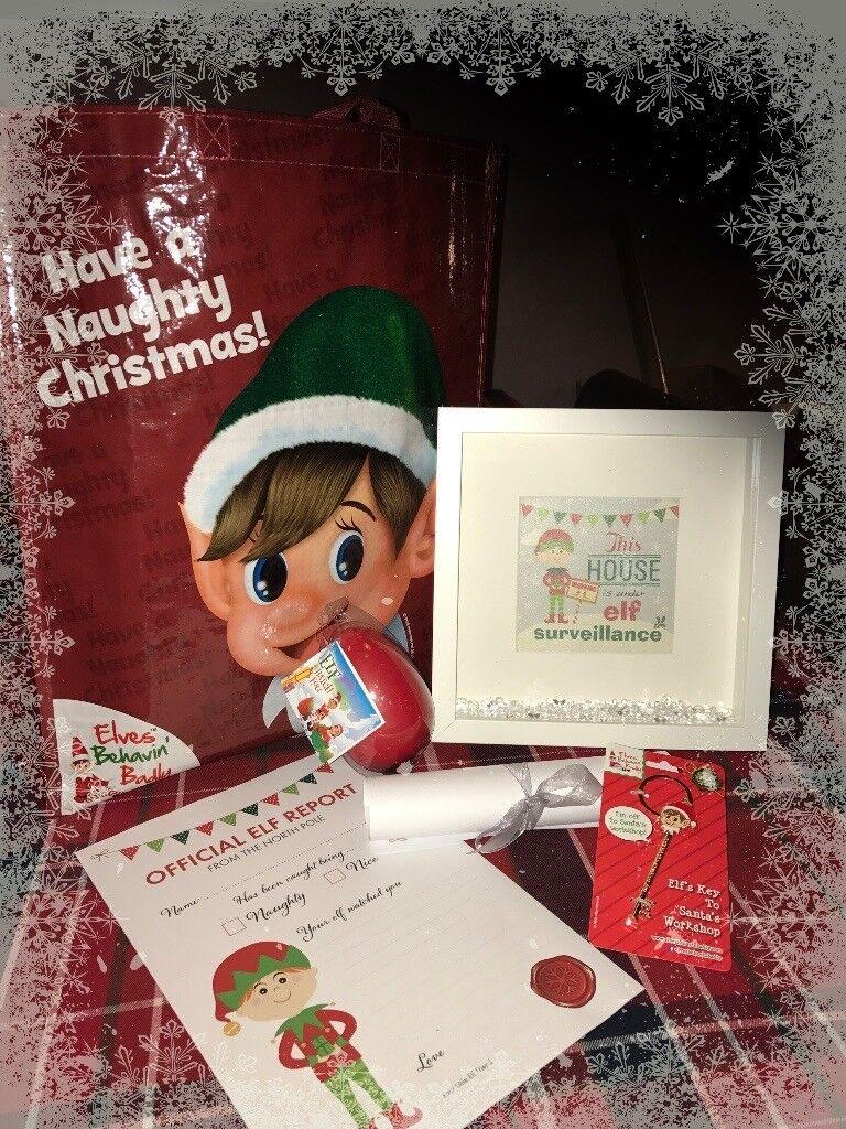 Under Elf Surveillance Christmas Gift Set