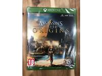 Assassins Creed Origins NEW and SEALED Xbox one