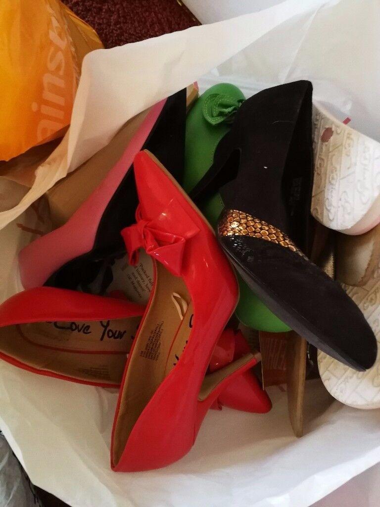 Bundle of womens size 5 shoes