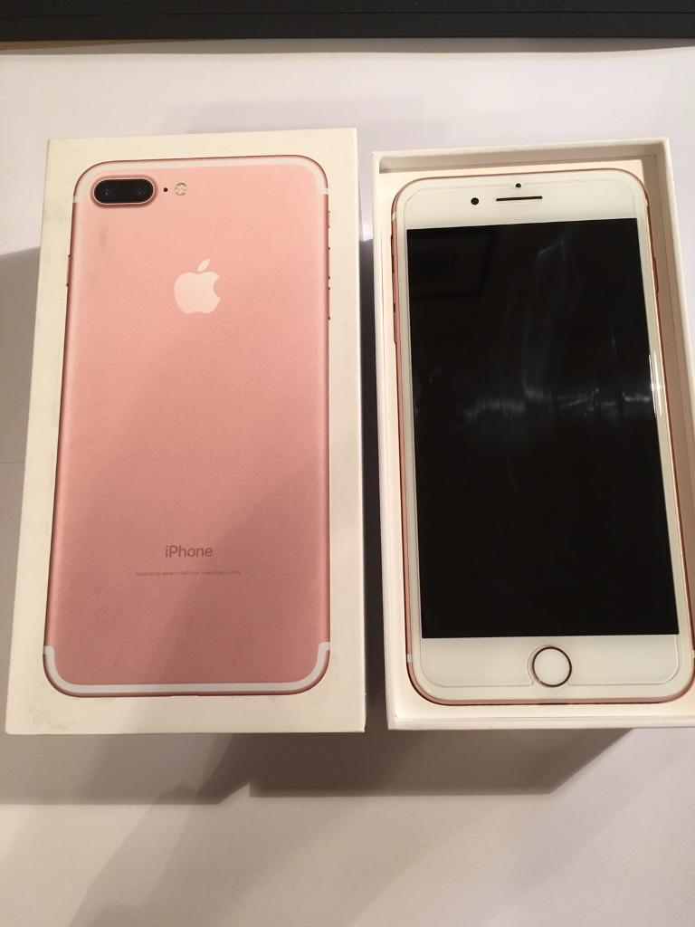 iphone 7 plus rose gold 128gb unlocked in staines upon. Black Bedroom Furniture Sets. Home Design Ideas