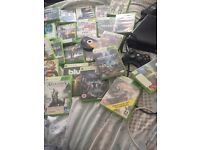 Xbox 360 bundle with one controller and 24 games