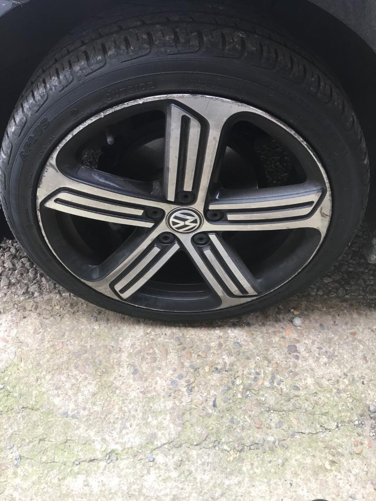 Golf r mk7 genuine wheels