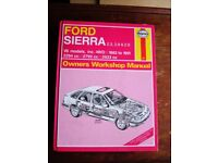 Old workshop Manuals / Ford Sierra and Austin Mastro