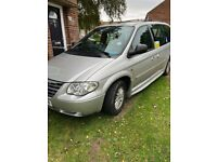 Disabled vehicle- Chrysler, GRAND VOYAGER, MPV, 2006, Other, 2776 (cc), 5 doors