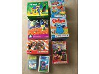 Games bundle - Fireman Sam, Peppa Pig, ELC, K'nex, Phonics etc