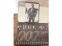 21, JAMES BOND DVD'S