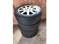 """Set of 4 Ford mondeo alloys (5 stud) 16"""""""