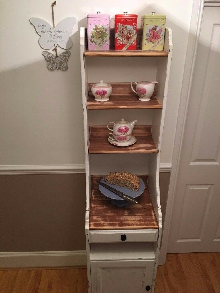 Unique Shabby Chic shelving unit. ⚡️ 🔥 💥 SOLID WOOD..... DRESSER RUSTIC