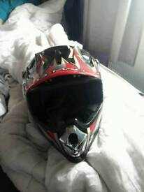 Kid motorcycle helmet used ones