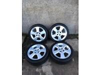 Vauxhall Corsa C SRI 16 inch alloys 4x100