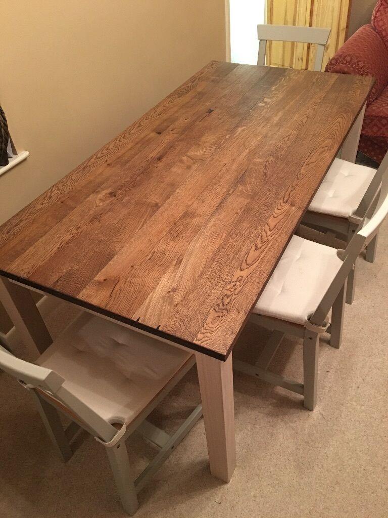 86 Ikea Kejsarkrona Dining Table Patru Gamleby Chairs