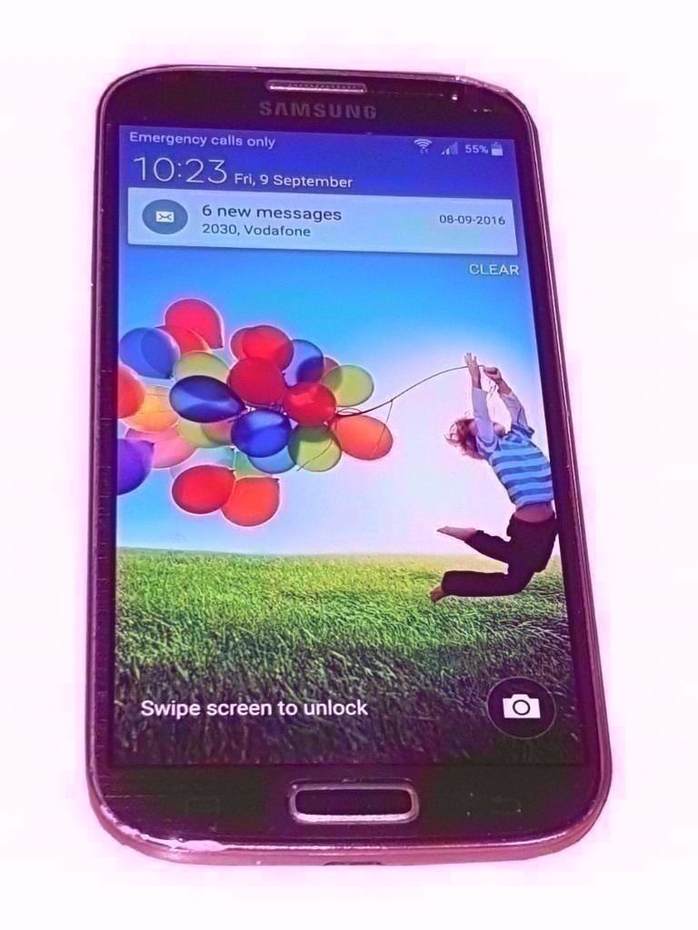 SAMSUNG GALAXY S4 SMARTPHONE (SIMFREE) BOXED