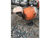 Belle cement mixers petrol and electric