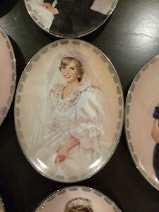 10 Lady Diana collection plates