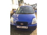 KIA PICANTO 2005 EXCELLENT CONDITION AND ONLY 62990 MILES.