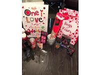 Valentines gift set for him or her