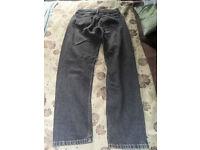 Vintage Levis 818 black jeans