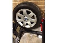 4 x 16 Inch BMW Alloys And Tyres