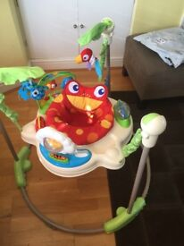 Fisherprice Rainforest Jumperoo and Swing. Great condition can sell both together or separate.