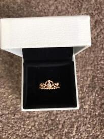 Pandora princess ring size 50