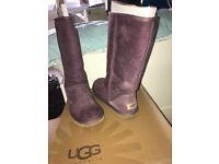 Ugg boots classic purple
