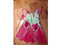 Tinkerbell fairy fancy dress age 2,3,4