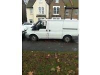 Ford transit van start drive good cheap van ready for work mot and taxed ready to drive 55 reg van