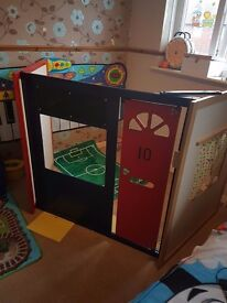 3 panel free standing role play great childminders nersery play groups