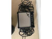 Gear 4 Music amp with 2x 5m leads