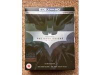 The Dark Knight Trilogy- 4K UHD box se